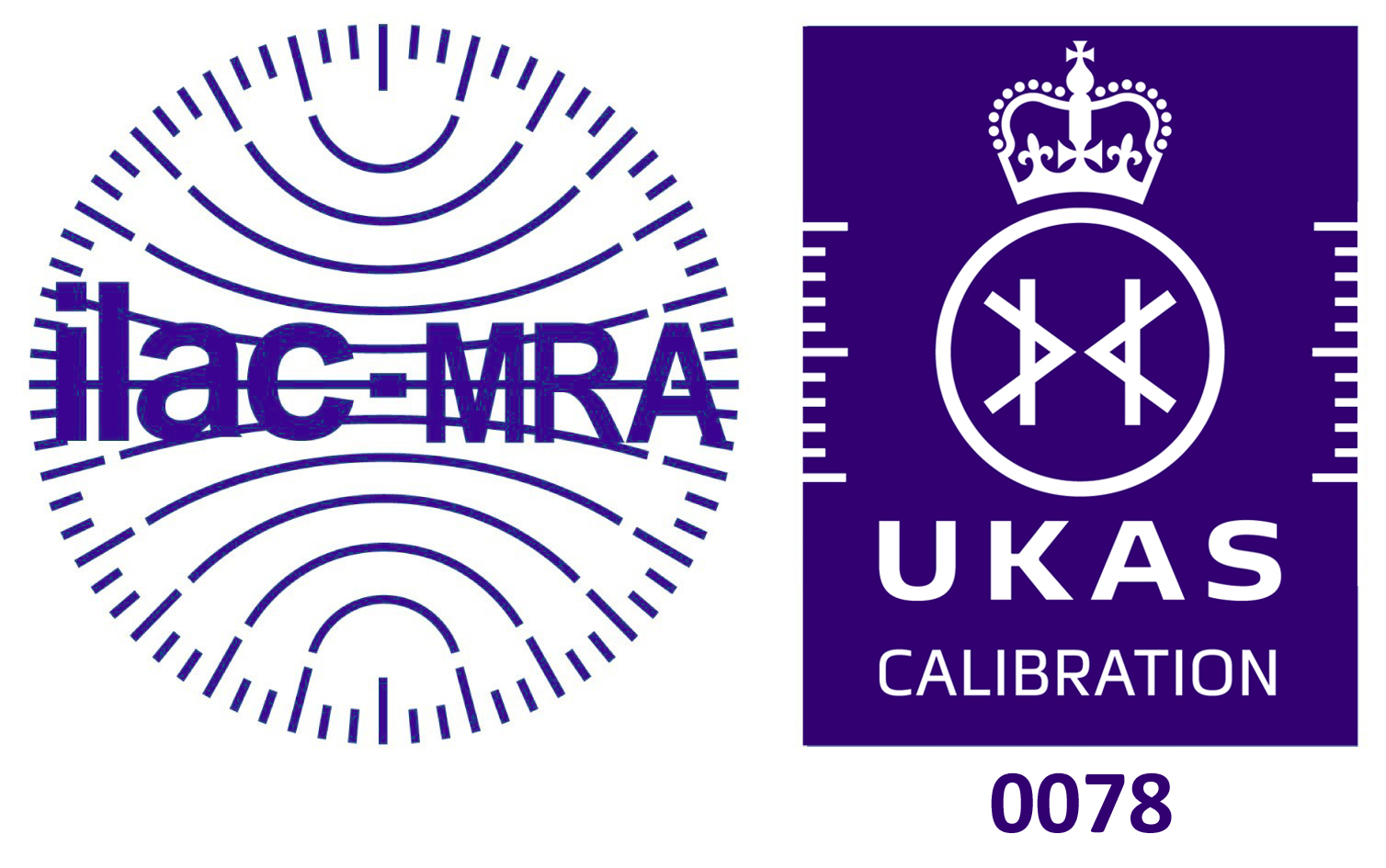 ILAC-MRA UKAS Accreditiation Mark