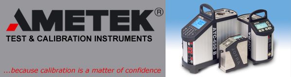 Ametek Jofra Temperature Calibration Instruments