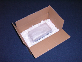 place instrument in box