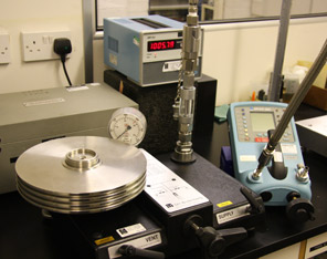 Pressure Calibration Budenburg Air Dead Weight Tester