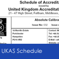 Link to UKAS Schedule